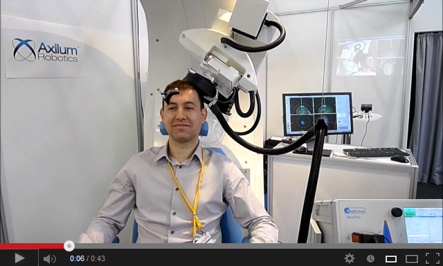 Axilum Robotics - Robot for transcranial magnetic stimulation
