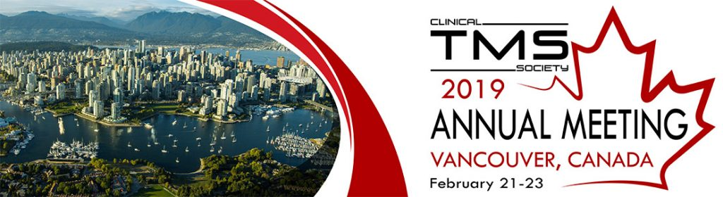 Axilum Robotics at the annual meeting of the Clinical TMS Society, Vancouver, Canada, February 21-23 2019