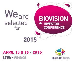 Conférence BIOVISION Investor