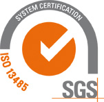 Certification ISO 13485 SGS