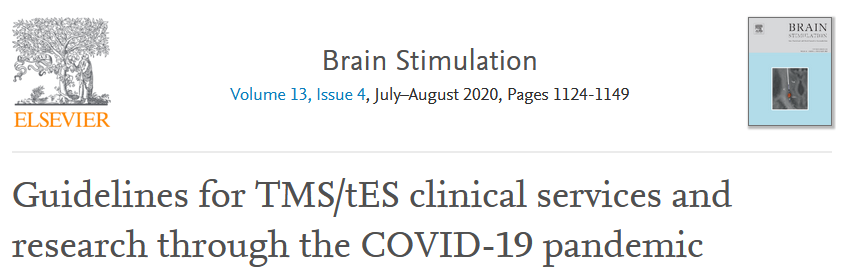 Advantage of robotic TMS during the COVID-19 pandemic